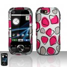 Pink Spots Case Cover Snap on Protector for Motorola i1