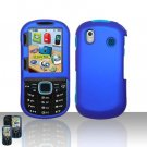 Samsung Intensity 2 U460 Blue Case Cover Snap on Protector