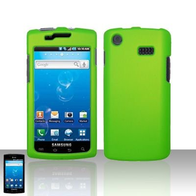 Samsung Captivate i897 Neon Green Case Cover Snap on Protector