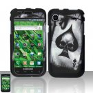 Samsung Vibrant T959 Spade skull Case Cover Snap on Protector