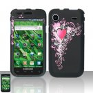 Samsung Vibrant T959 Heart Case Cover Snap on Protector
