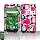 Samsung Vibrant T959 Pink Dots Case Cover Snap on Protector