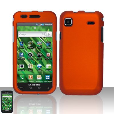 Samsung Vibrant T959 Orange Case Cover Snap on Protector