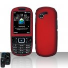 Red Case Cover Snap on Protector for Samsung Gravity 3 T479