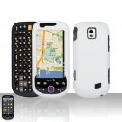 White Case Cover Snap on Protector for Samsung Intercept M910