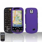 Purple Case Cover Snap on Protector for Samsung Intercept M910