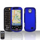 Blue Case Cover Snap on Protector for Samsung Intercept M910