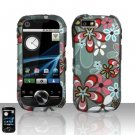 Flowers Design Hard Snap On Case Cover for Motorola i1