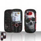 Skull Design Snap On Hard Cover Case for Samsung Intensity U450