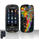 Rainbow Hard Snap On Cover Case for Samsung Reality U820