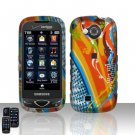 Orange Design Hard Snap On Cover Case for Samsung Reality U820