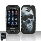 Skull Hard Snap On Cover Case for Samsung Reality U820
