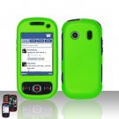 Neon Green Hard Snap On Cover Case for Samsung Seek M350