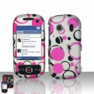Pink Dots Hard Snap On Cover Case for Samsung Seek M350