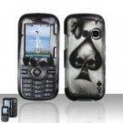 Spade Skull Hard Snap On Cover Case for LG Cosmos VN250