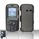 Carbon Fiber Hard Snap On Cover Case for LG Rumor 2 LX265