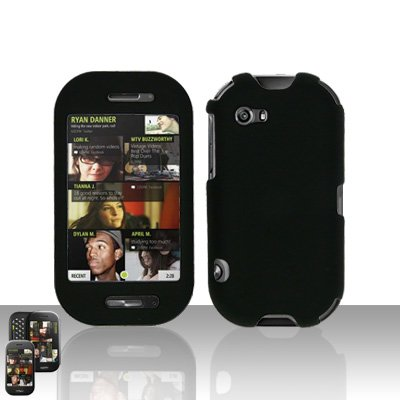 Black Case Cover Snap on Protector for Mircorsoft Sharp Kin 2 Two