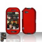 Red Case Cover Snap on Protector for Mircorsoft Sharp Kin 2 Two