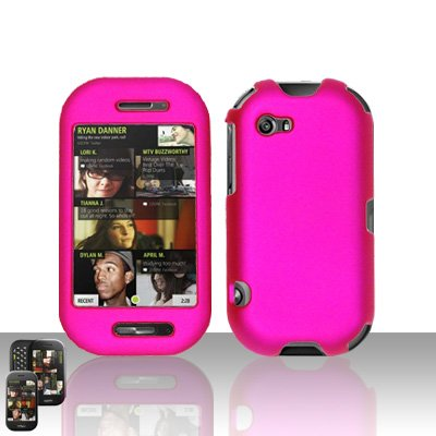 Pink Case Cover Snap on Protector for Mircorsoft Sharp Kin 2 Two