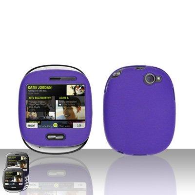 Purple Hard Case Cover for Mircorsoft Sharp Kin 1 One