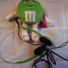 M & M mini plush radio