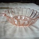 Vintage Anchor Hocking Depression Pink Fortune glass bowl