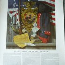 Declaration of Independence print Echelon Publishing Minneapolis