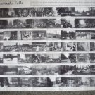 Minnehaha Falls Minnesota pictorial history poster