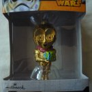 Star Wars Hallmark Disney C3PO resin Christmas ornament