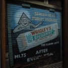 Wrigleys Spearmint painting on wall photo