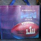 Super Bowl 52 shopping tote reusable bag