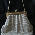 Glomesh purse handbag white made in Australia