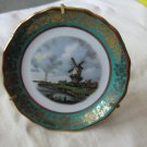 Miniature plate windmill Limoges France