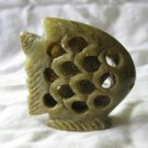 Carved Soap Stone Filigree Fish