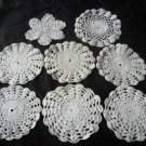 Crochet pieces small (8)