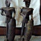 Vintage Metal Knight Conquistador  Sculptures Mexico