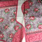 "Christmas Stocking Panel Cotton VINTAGE FABRIC 0.44 Yd 44""W"