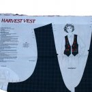 Dreamspinners VIP Fabric Panel Harvest Vest