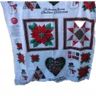 Spectrix American Museum Christmas Collection Applique Fabric Panel