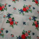 "Leiters Floral Print Semi Sheer Blend Fabric 2 Yd 59"" W"