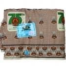 ATL Ghanian 75th Anniversary Radio 2010 Cotton FABRIC 6 Yd 45 Inches