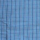 "Leiters Check Plaid Cotton Flannel FABRIC 4.11 Yd 38""W"