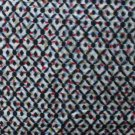 Japanese Meisen Kimono Silk Allover Square Dot New VINTAGE FABRIC 176 x 14 Inches