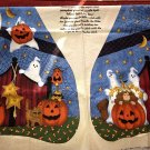 WHICH WITCH AND THE WHO TOO HALLOWEEN VEST LESLIE BECK VIP CRANSTON PANEL