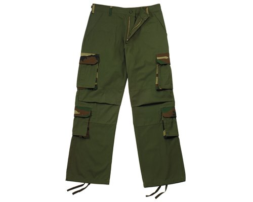 2166 ULTRA FORCE OLIVE DRAB RIGID ACCENT FATIGUES SMALL