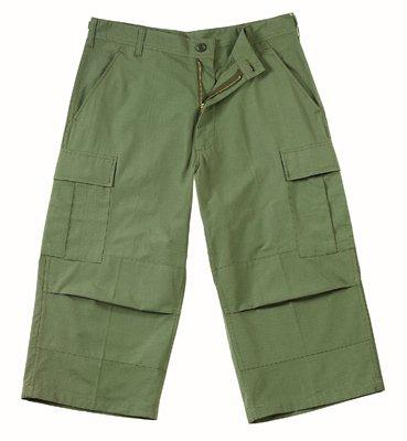 8357 ULTRA FORCE  B.D.U. OLIVE DRAB CAPRI PANTS 2XL