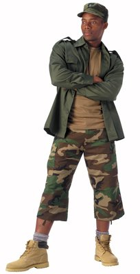 8361 ULTRA FORCE  WOODLAND CAPRI PANTS XSMALL