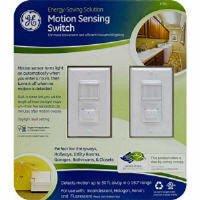 GE Motion Sensing Switches 2pk  500 Watt