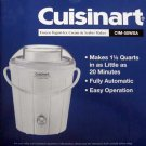 Classic Frozen Yogurt, Ice Cream & Sorbet Maker CUISINART