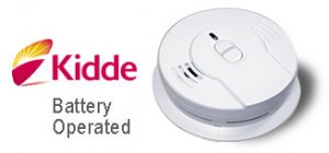 Kidde Long-Life Lithium Smoke Alarm 10 Year Battery